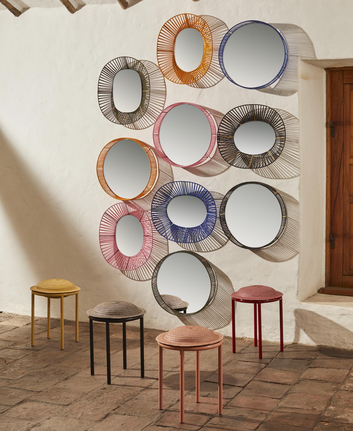 Cesta - Wall Mirror Round