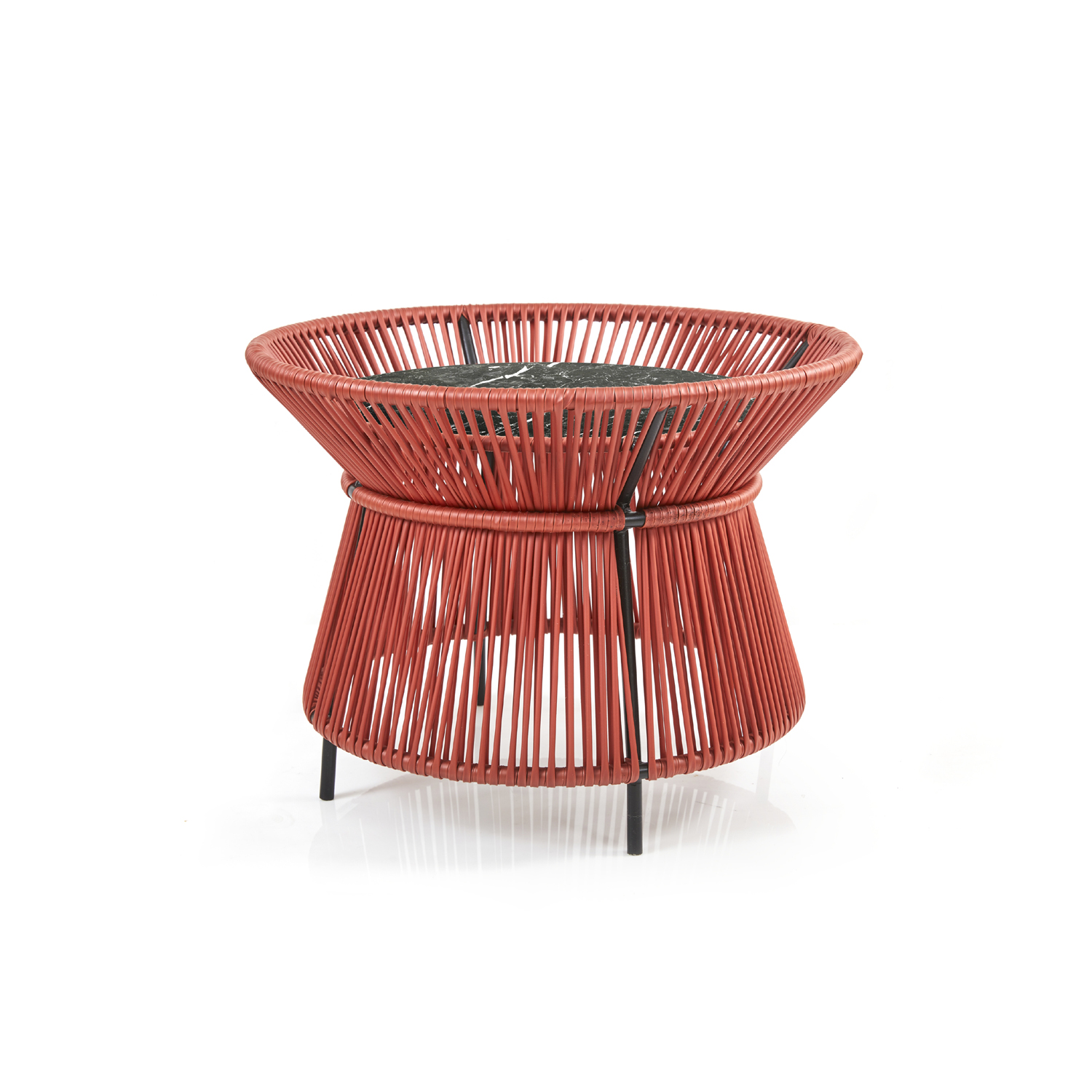 Caribe Chic - Basket Table Marble